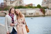 Couple in Paris — Stock Photo