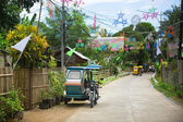 Philippino village — Stock Photo