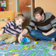 Father and son playing — Stock Photo