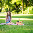 Girl in park — Stock Photo #33207337