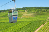 Cable car in Rudesheim am Rhein, Germany — Stock Photo