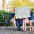 Tourists looking in map — Stock Photo #44563707