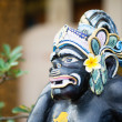 Traditional Balinese God statue in Ubud temple — Stock Photo #49599705