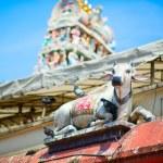 индуистский храм Шри Мариамман в Сингапуре — Стоковое фото #50253555
