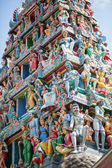 Sri Mariamman Hindu Temple in Singapore — Stock Photo