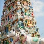 Подробная информация о индийский храм в Сингапуре — Стоковое фото #51418461