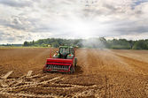 Tractors on the field. — Stock Photo