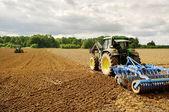 Plowed land. — Stock Photo