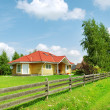 Detached country home. — Stock Photo