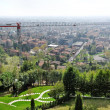 View from Bergamo alta. — Stock Photo