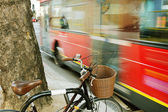 On a London street. — Stock Photo