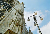 Milan Cathedral Dome. — Stock Photo