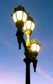 Street lamps. — Stock Photo