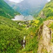 Stock Photo: Norway landscape.