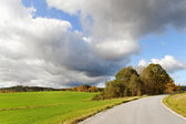 Landscape with country road. — Stock Photo
