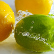 Lemon and lime. — Stock Photo