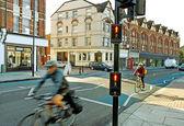 Morning on the London street. — Stock Photo
