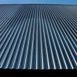 Stock Photo: Metal roof.