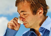 Allergy. — Stock Photo