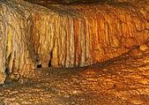形成的钟乳石. — 图库照片