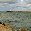 Stock Photo: Sebreakwater.