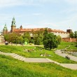 Cracow in a summer. — Stock Photo