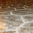 Stock Photo: Salt floor.