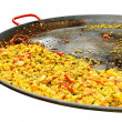 Stock Photo: Pan with pilaff.