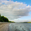 Low water of Daugava river. — Stock Photo