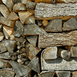 Firewood. — Stock Photo
