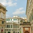 Stock Photo: Center of Genova.