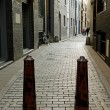 Stock Photo: Narrow street.