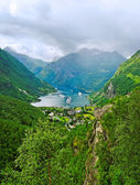 View to the fjord. — Stock Photo