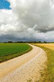 Landsväg. — Stockfoto