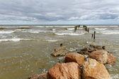 Burzliwe morze. — Zdjęcie stockowe