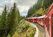 Mountain railroad. — Stockfoto
