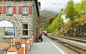 Train station. — Foto Stock