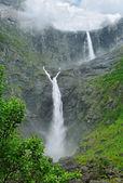 Norway waterfall. — Stock Photo