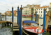 Grand canal. — Stock Photo
