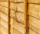 Wood fence. — Stock Photo