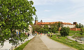 Cracow in a summer. — Stockfoto