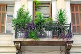 Old balcony. — Stock Photo