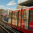 Stock Photo: Docklands Light Railway.
