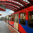 Docklands Light Railway. — Stock Photo