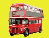 红色巴士. — 图库照片