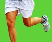 Running man. — Stock Photo
