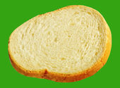 Slice of bread. — Foto de Stock