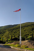 Norwegen flagge. — Stockfoto