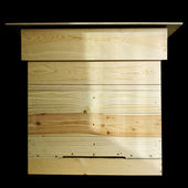 Project of wooden beehive. — Stock Photo