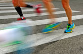 Running people. — Stock Photo